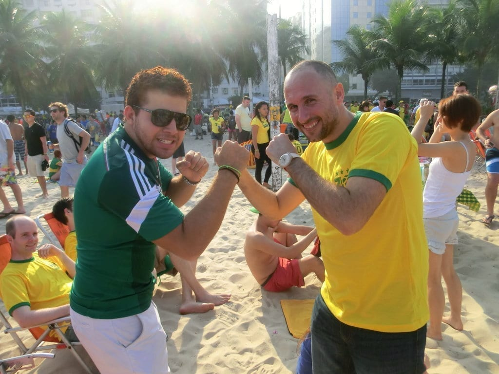 World Cup in Copacabana. Who would win?