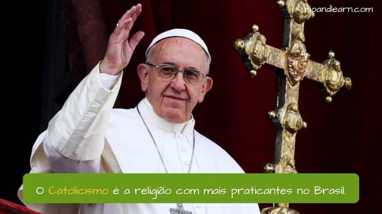 Religión en Brasil. El catolicismo e la religión con más practicantes en Brasil.