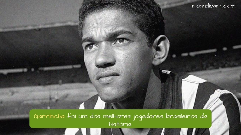 Garrincha Footballer. Garrincha foi um dos melhores jogadores brasileiros da história.