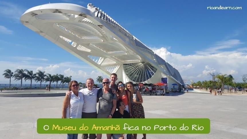 Museum of Tomorrow in Rio de Janeiro.