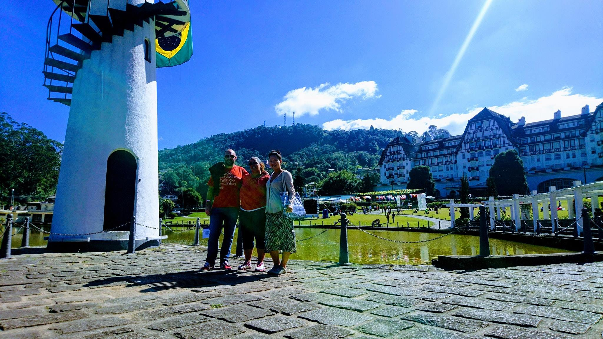 Sunny day in Petropolis.