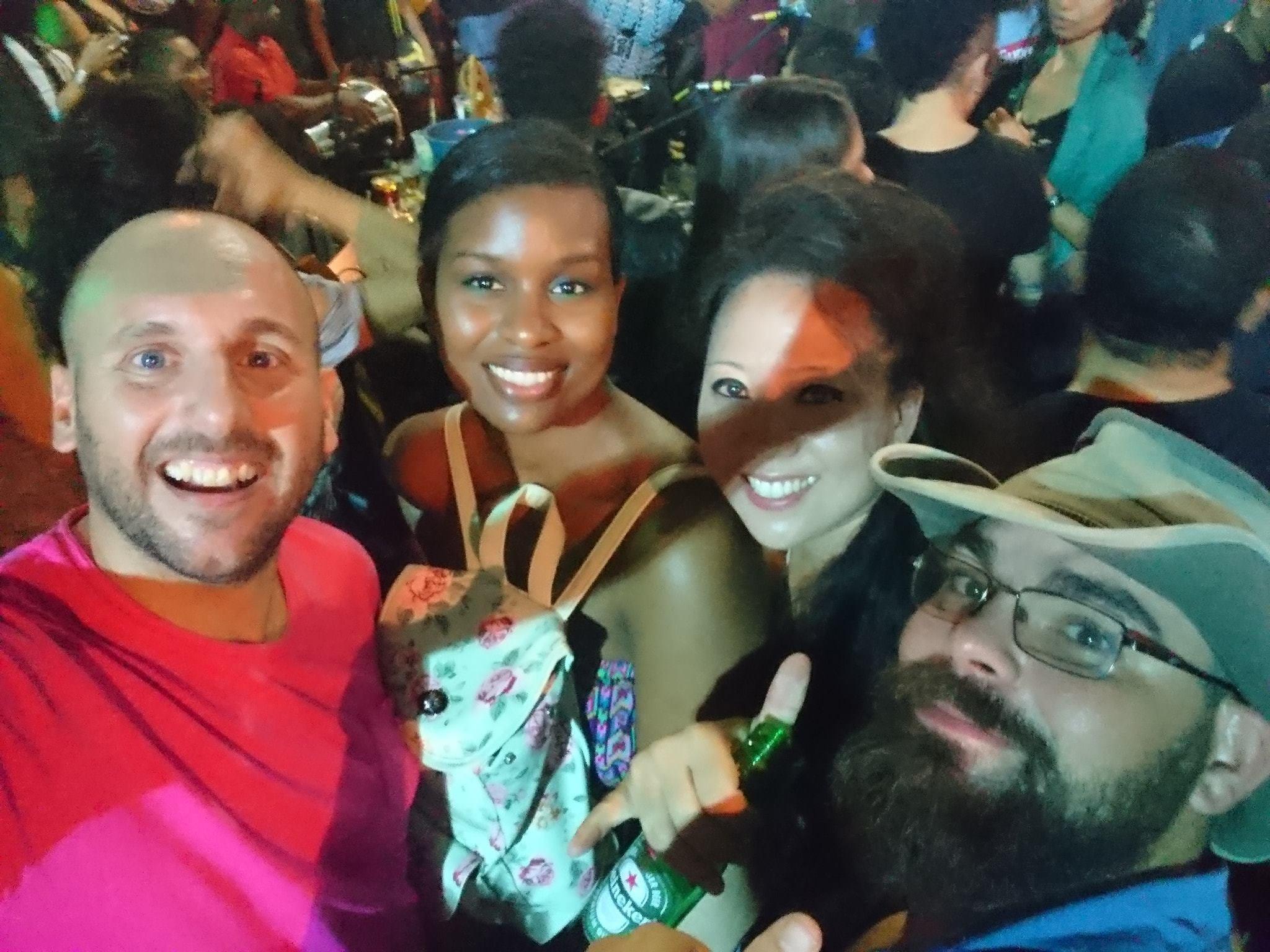 Four at Pedra do Sal!!