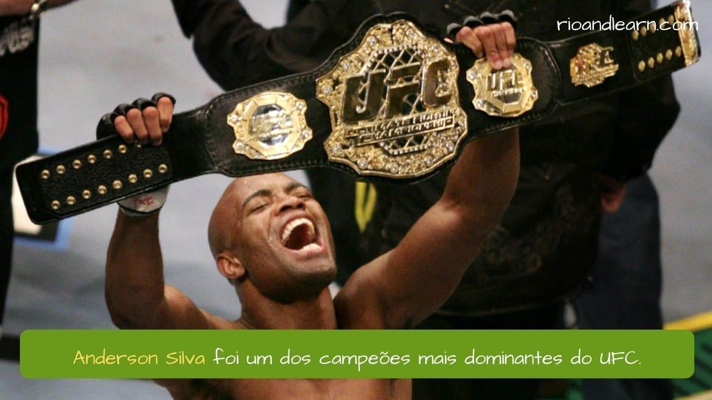 Anderson Silva en UFC fue uno de los campeones más dominantes.