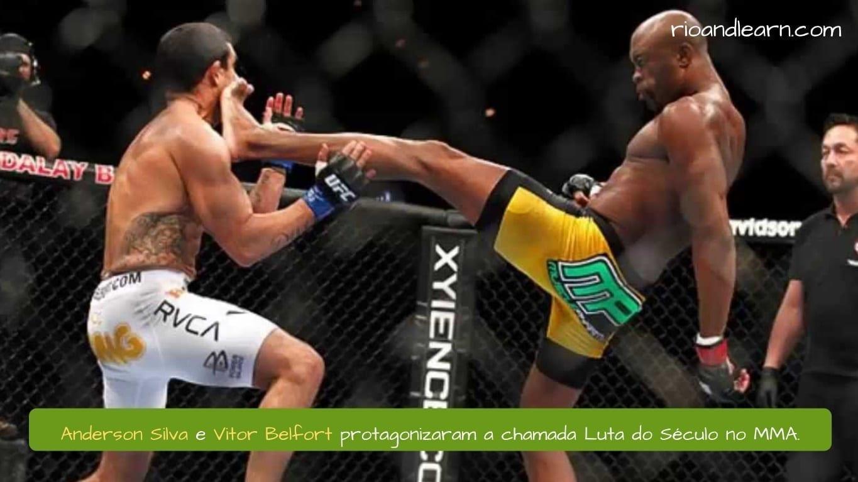 Anderson Silva y Vitor Belfort protagonizaron el combate del siglo de MMA.