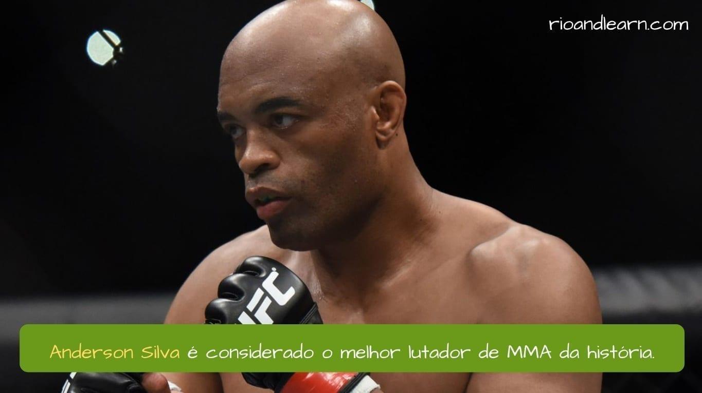 Who is Anderson Silva. Anderson Silva é considerado o melhor lutador de MMA da história.