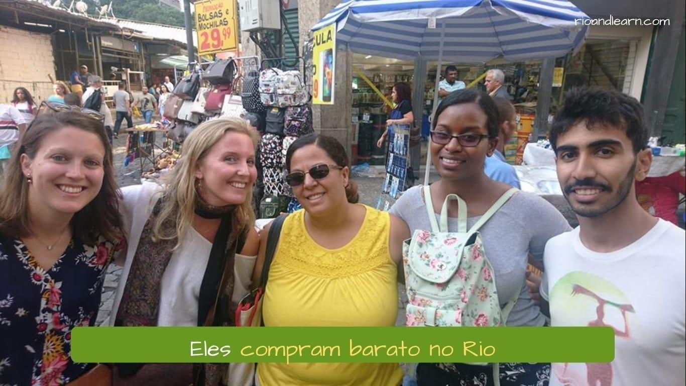 Onde Comprar no Rio. Eles compram barato no Rio
