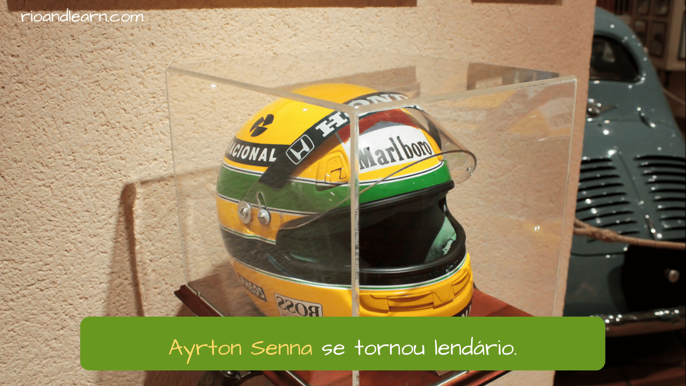 Ayrton Senna Driver. Ayrton Senna se tornou lendário.