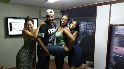 Las Chicas del Forró de la Escuela de Portugués Rio & Learn.