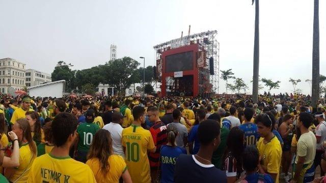 Tough game Brazil and Mexico