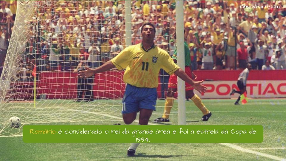 Mejores Jugadores Brasileños de la Historia. Romário é considerado o rei da grande área e foi a estrela da Copa de 1994.
