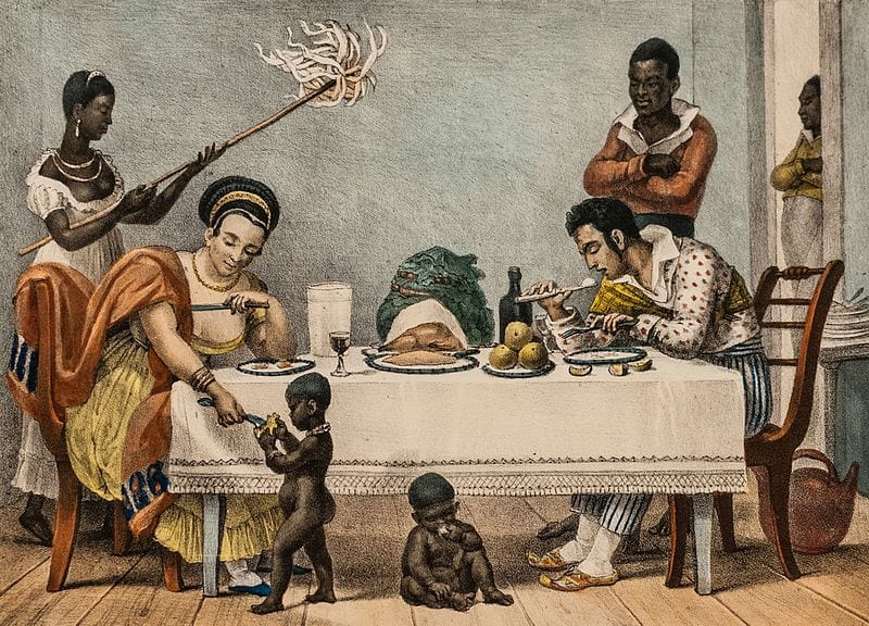 Slavery in Brazil. The Dinner. Pastimes after Dinner.