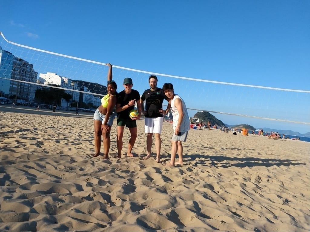 Los mejores estudiantes, jugadores de beach volley y expertos de la pose!! :)