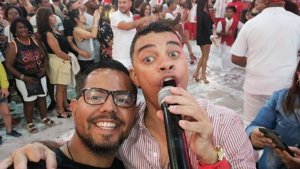 Samba School in Rio.
