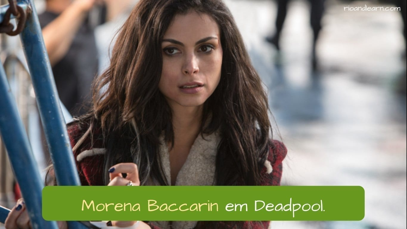 Best Brazilian Actors. Morena Baccarin em Deadpool.