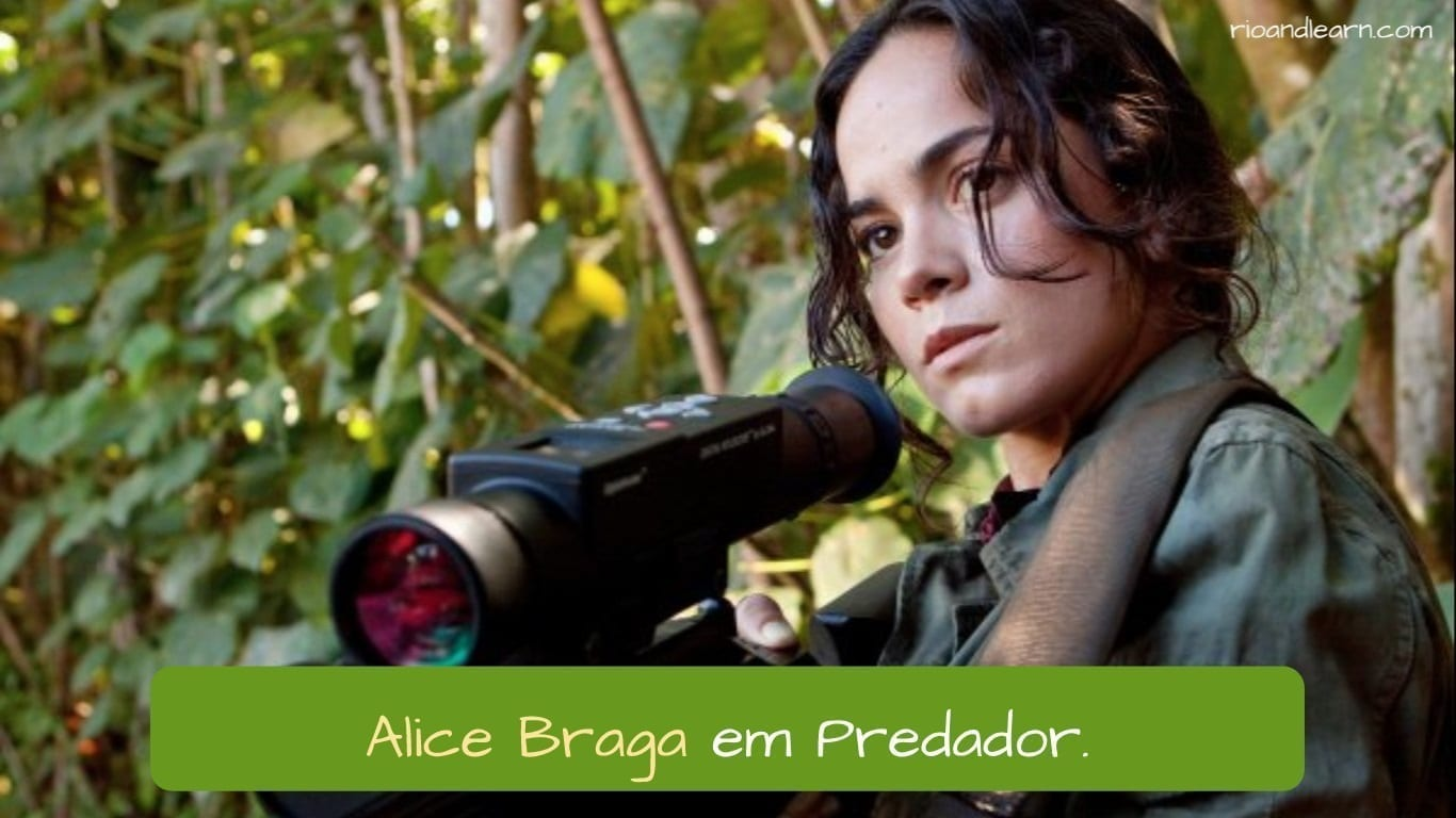 Best Brazilian Actors. Alice Braga em Predador.