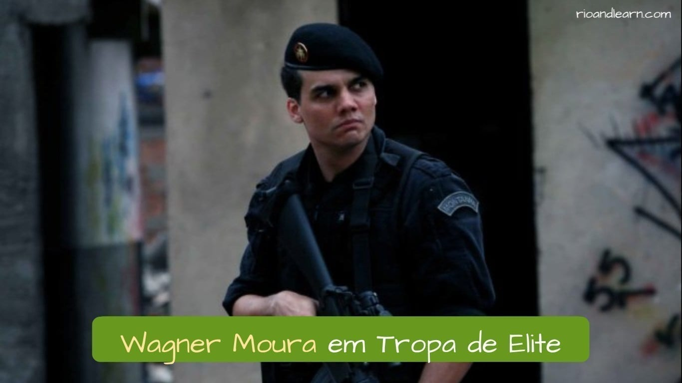 Best Brazilian Actors. Wagner Moura em Tropa de Elite.