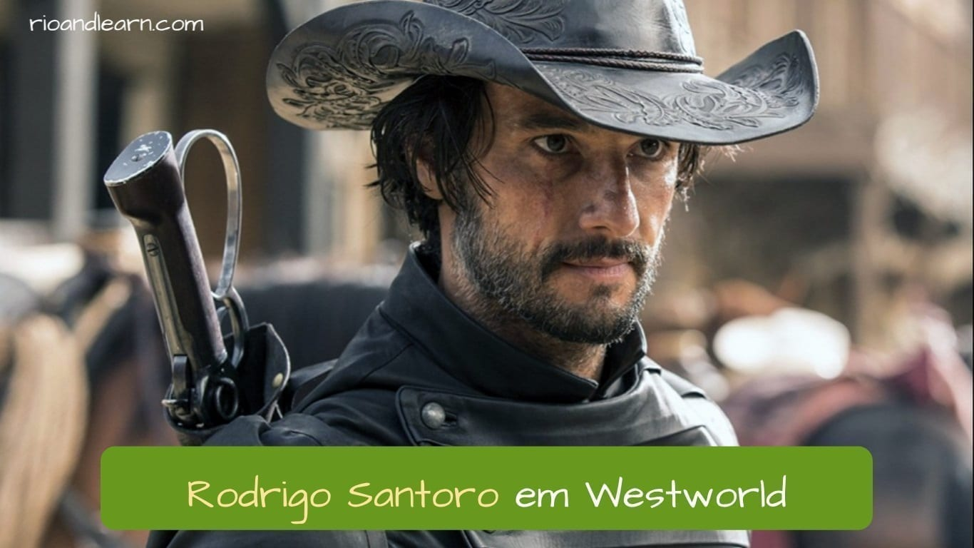 Best Brazilian Actors. Rodrigo Santoro em Wesworld