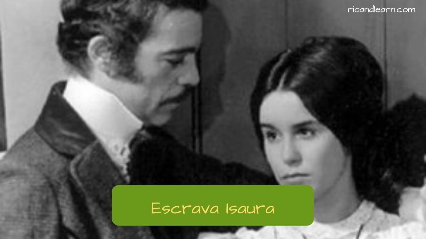 Brazilian Soup Opera. Characters from the Soap Opera Escrava Isaura