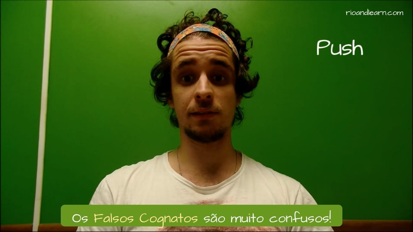False Friends English Portuguese. Os Falsos Cognatos são muito confusos!
