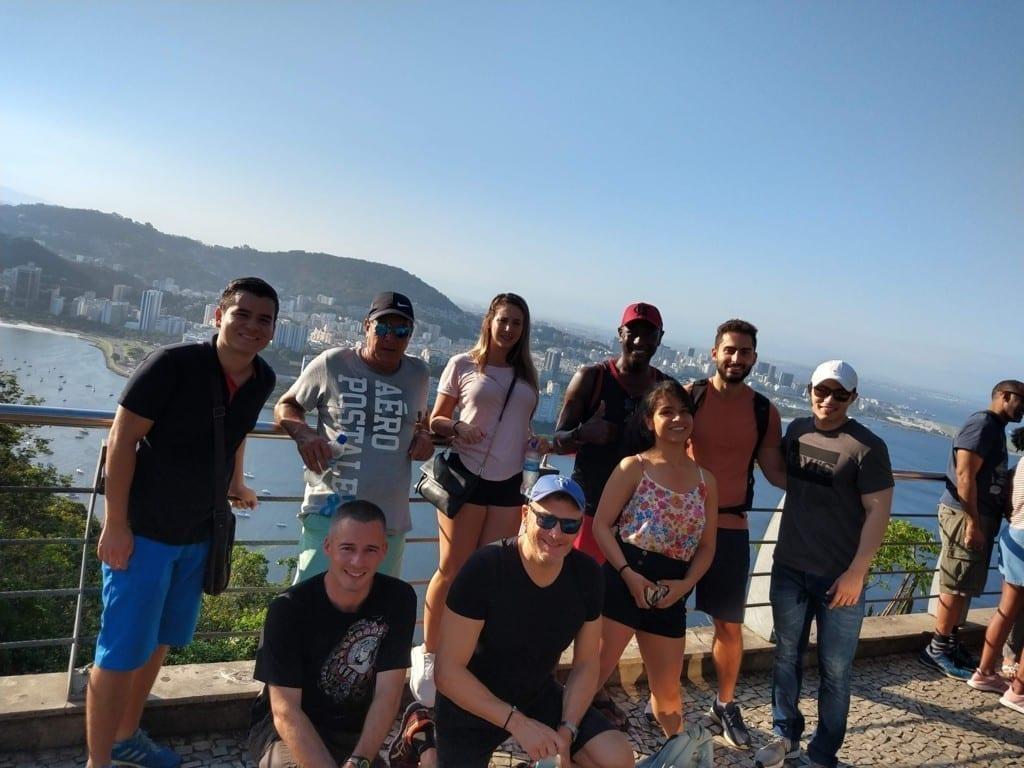 Hike and Views at Pão de Açúcar. Foreigners at Pão de Açúcar