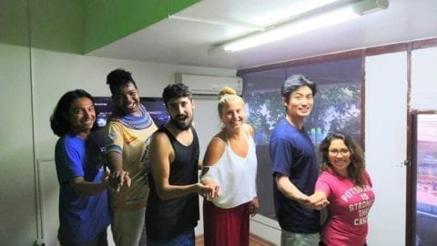 Estrelas do Forró. Foreigners learning Forró!