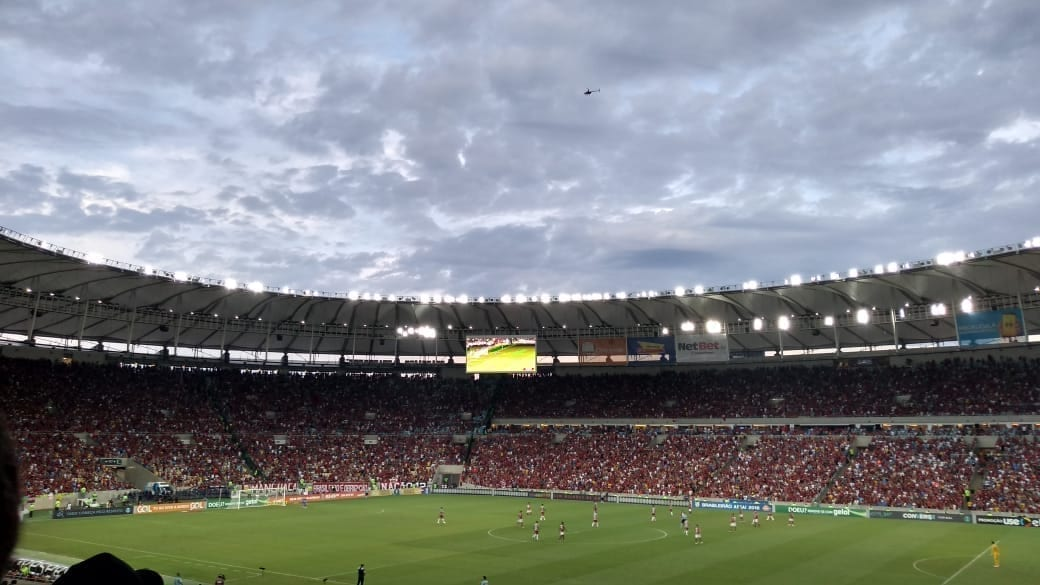 Thrilling match at Maracanã