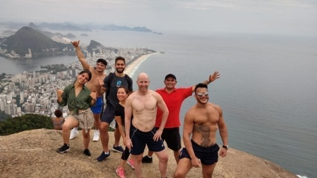 Carioca Hikers. Hiking at Dois Irmãos