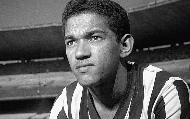 Time de Futebol Botafogo. Garrincha foi um grande jogador do Botafogo