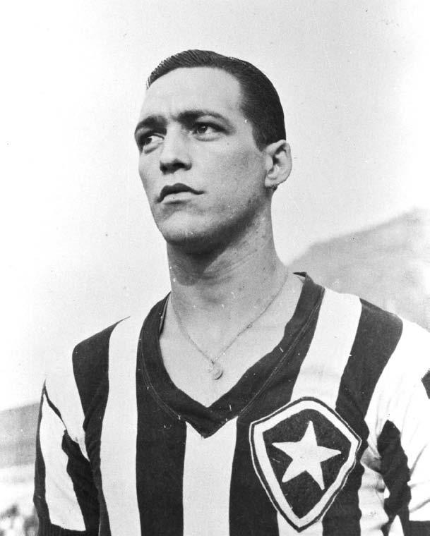 Time de Futebol Botafogo. Jogador do Botafogo Heleno