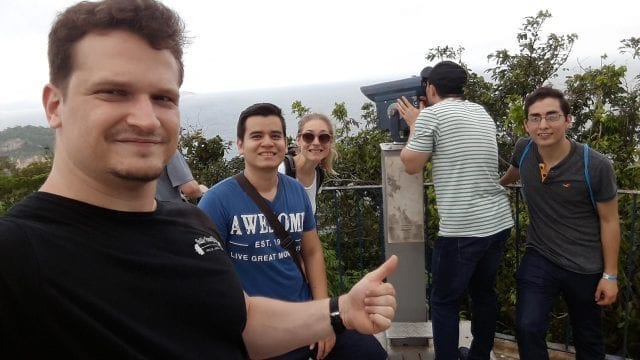 Sightseeing at Forte do Leme