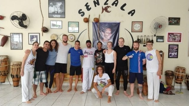 The new Capoeiristas of Rio & Learn!