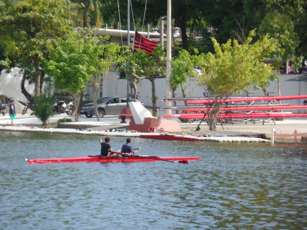 Flamengo Rowing Club at the Lagoon in Rio de Janeiro