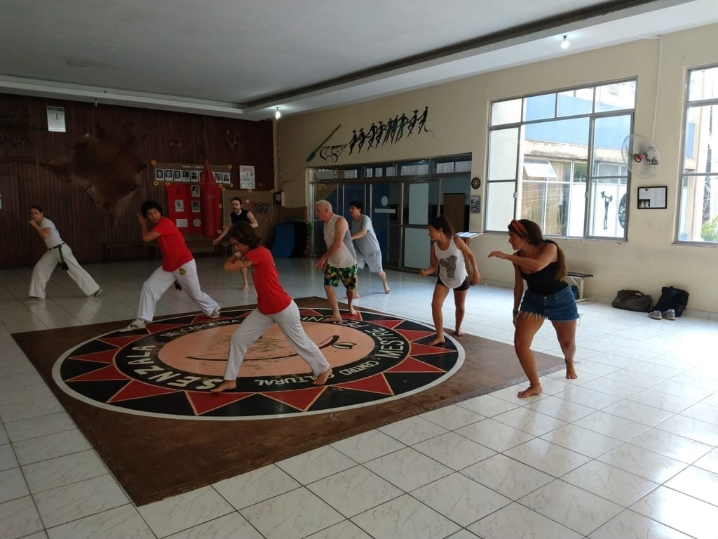 Capoeira at Senzala. Capoeira in Brazil
