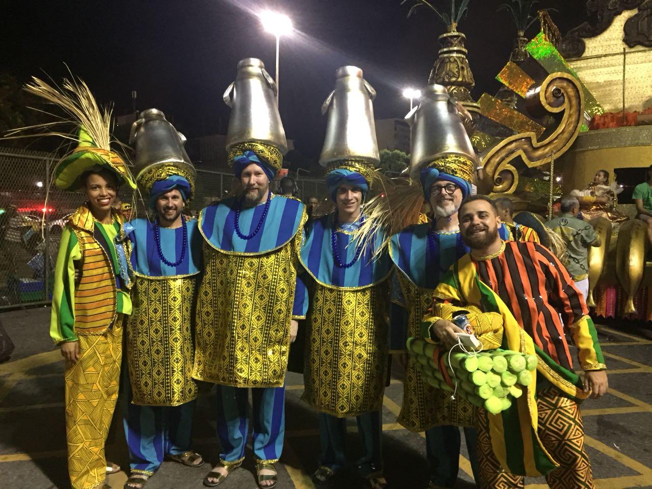 Dance in Rio Carnival.