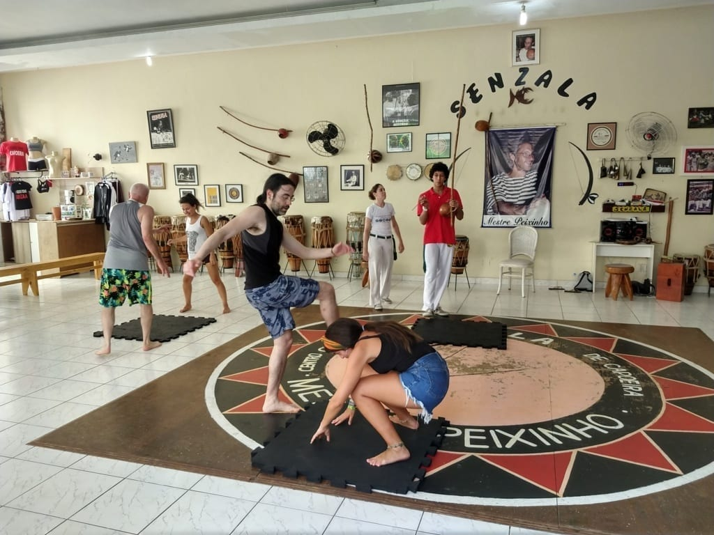 Capoeira at Senzala.