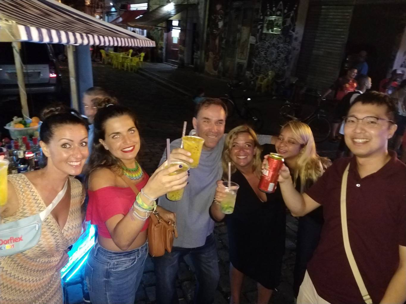 A Night With Samba and Caipirinhas