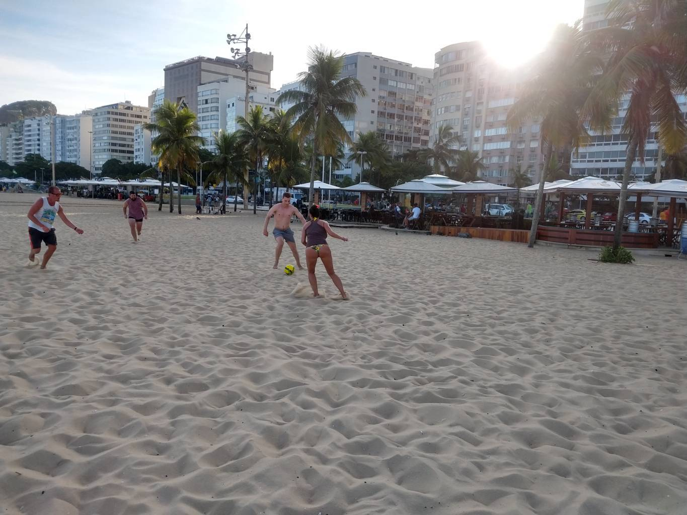 Sun Beach and Football