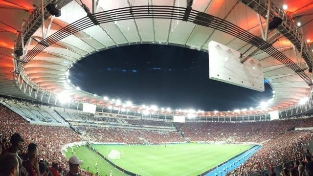 Hammering San José at Maracanã.