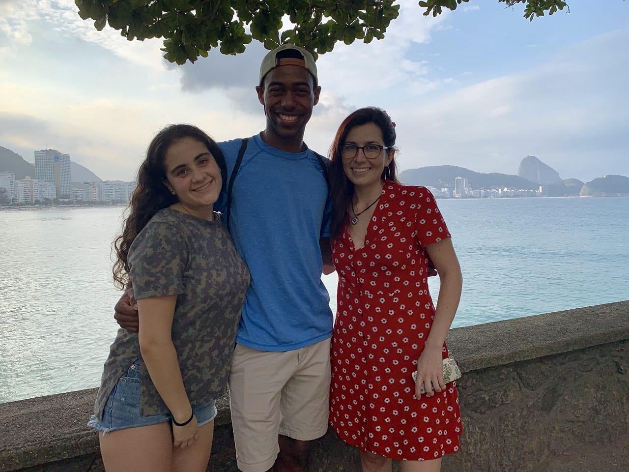 Una tarde dulce en el fuerte de Copacabana.