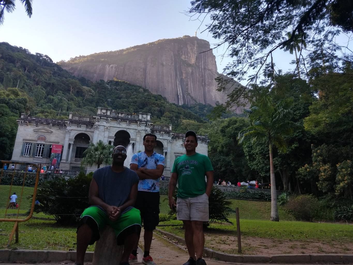 USA at Parque Lage