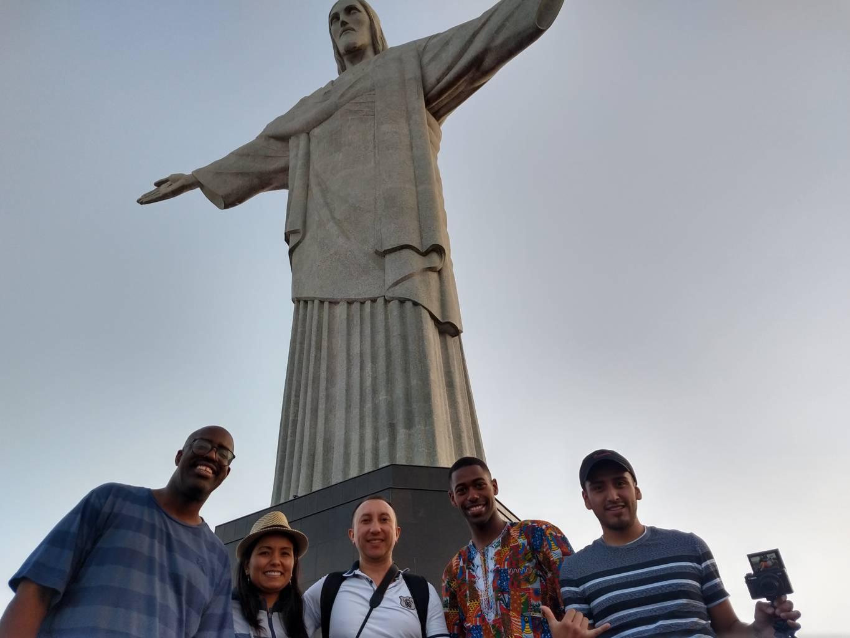 Estudiantes de la Rio & Learn en Corcovado.