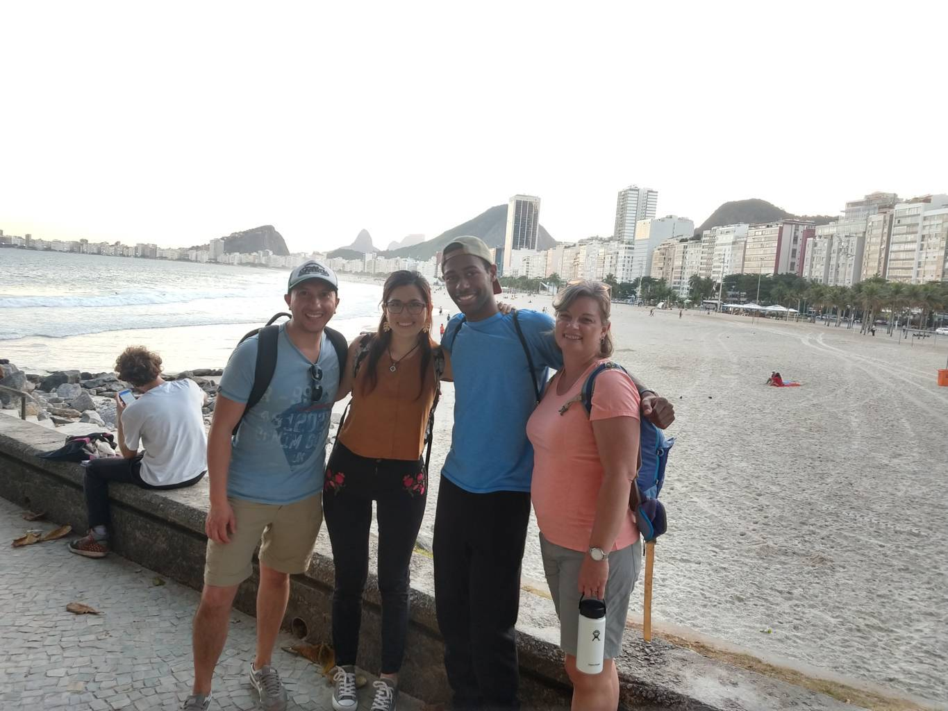 Friends and Views at Leme
