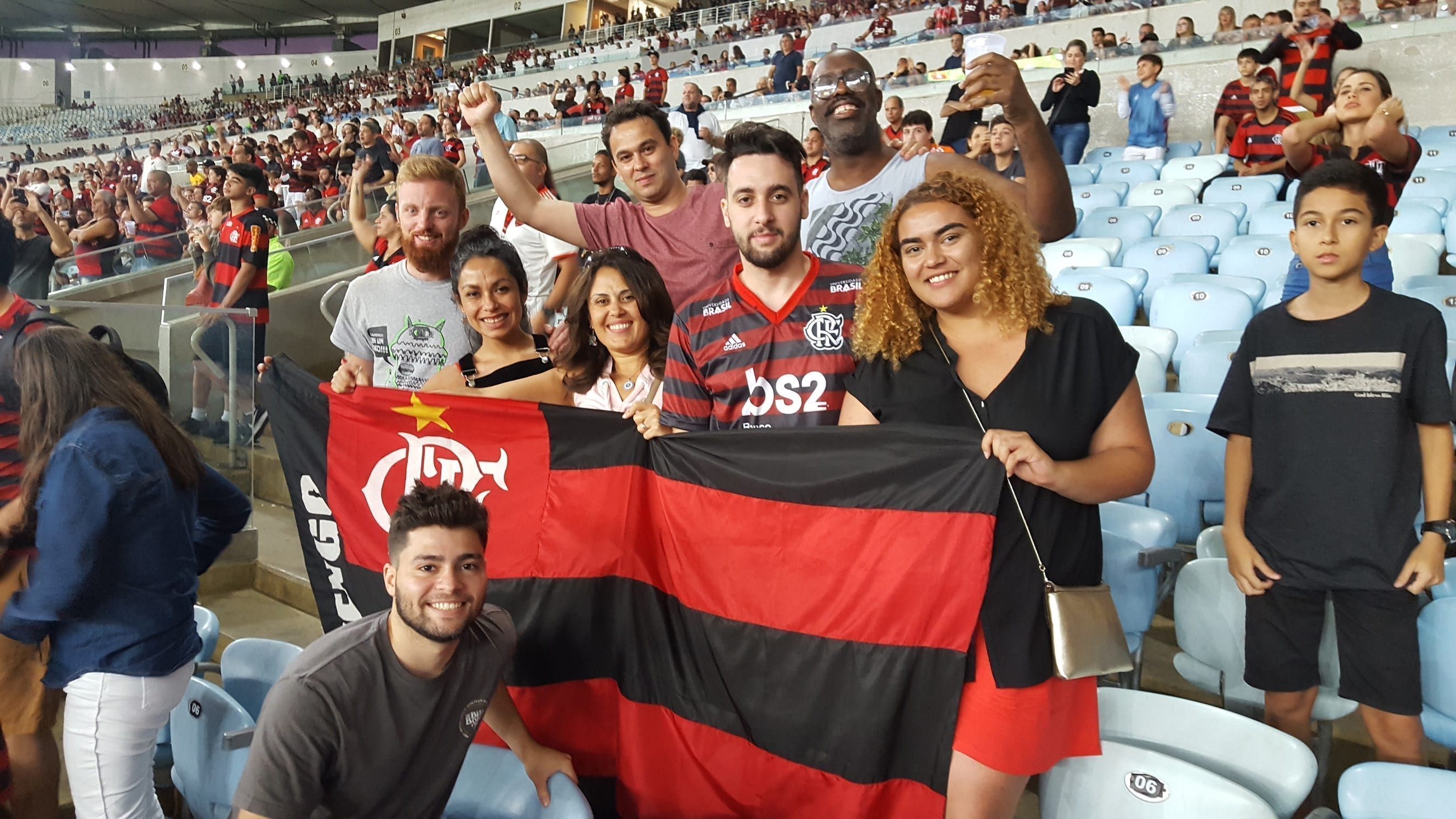Long Awaited Victory of Flamengo over Botafogo at the Maracanã Stadium.