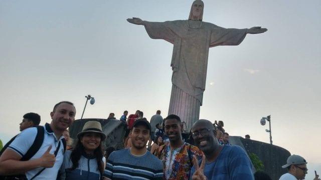 Lucky at Corcovado.