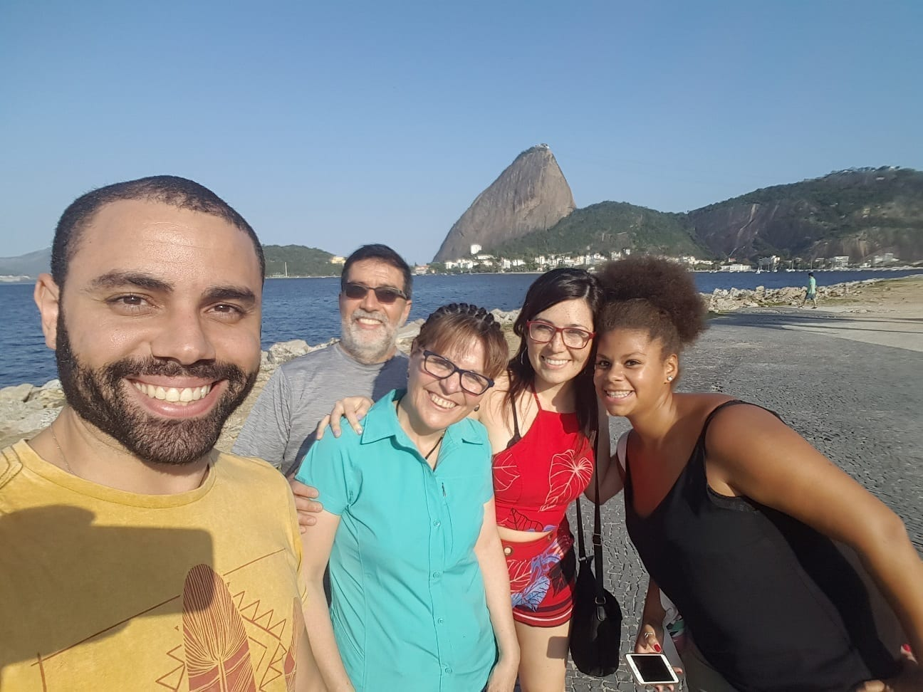 Selfie with the Sugarloaf! Rio of Saint Sebastian.