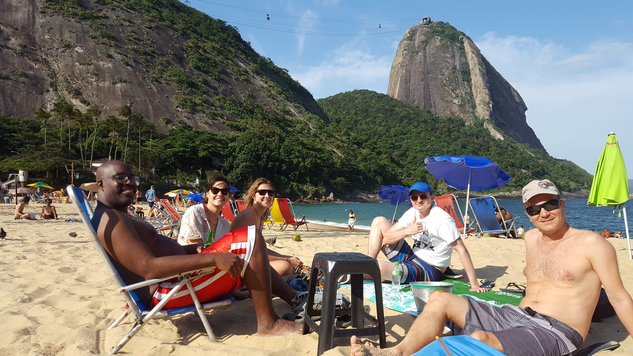 Our Favorite place in Rio de Janeiro is Urca. Amazing view of the Sugarloaf from Praia Vermelha