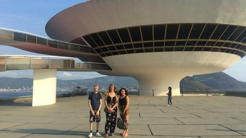We had an amazing afternoon at Niteroi