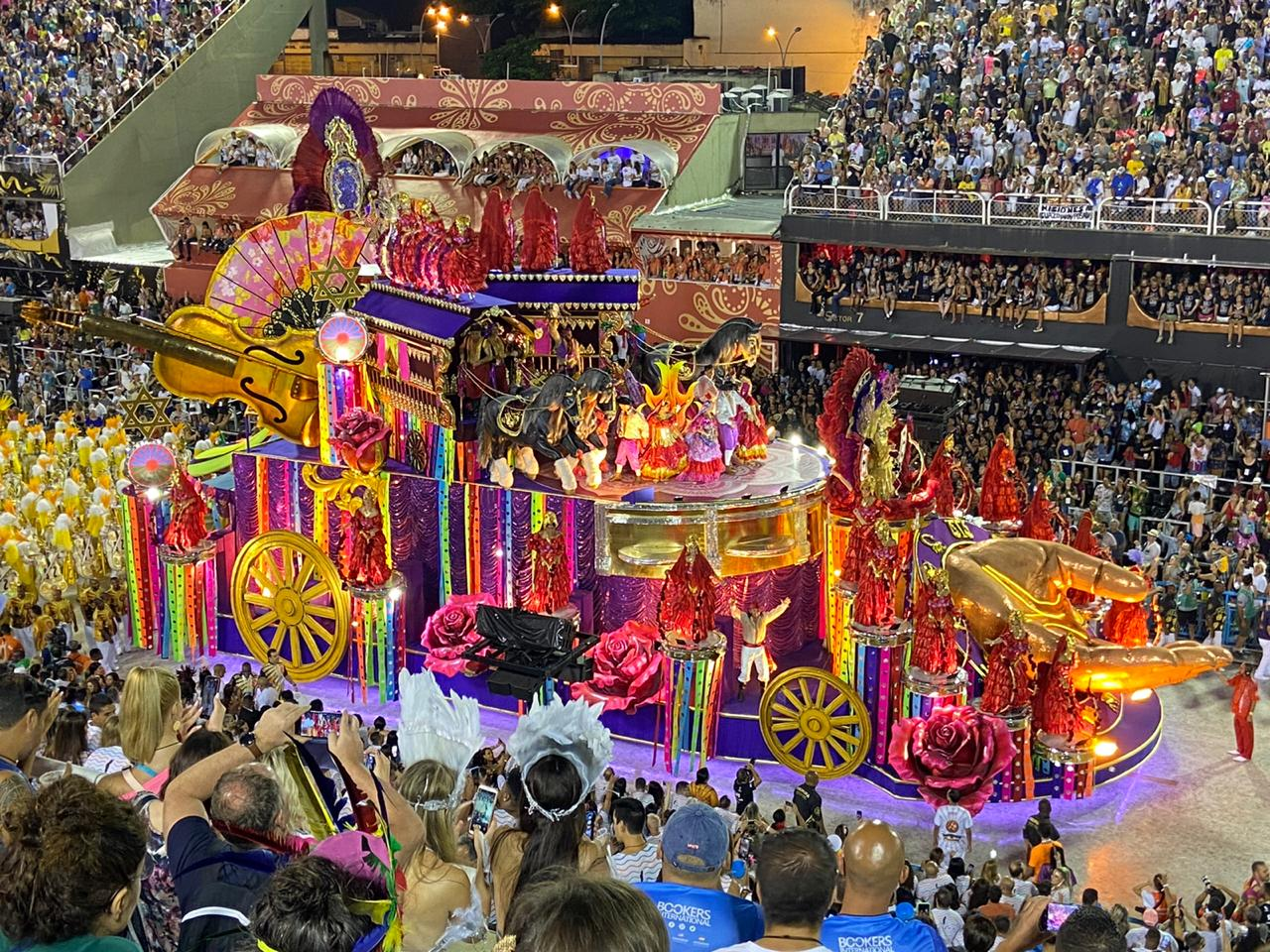 The Greatest Show on Earth. Float at Sapucaí