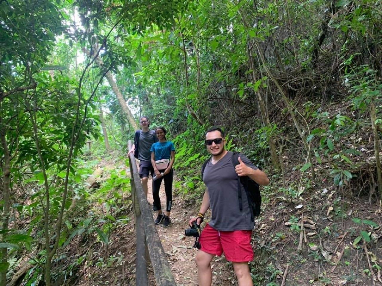 Excursión genial en el Morro da Catacumba.