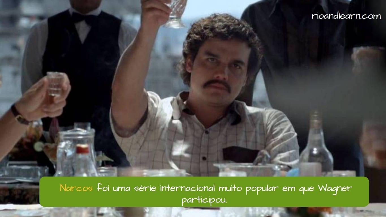 Narcos fue una serie internacional muy popular en la que participó Wagner Moura como Pablo Escobar.